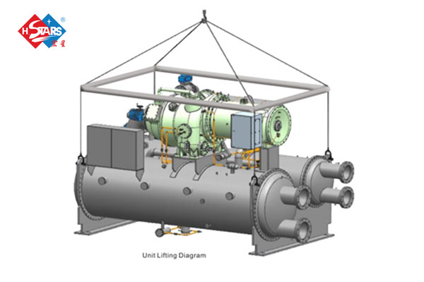 magnetic bearing centrifugal chiller