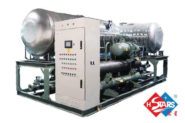high efficiency industrial chiller